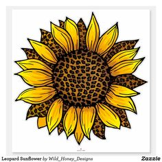 Design Your Own Stickers, Custom Stickers, Yellow Sunflower, Sunflower Png, Sunflower Mandala, Sunflower Shirt, Sunflower Tattoo Design, Sunflower Pictures, Sunflower Wallpaper