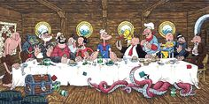 Popeye - Supper at Sea by ATLbladerunner - Last Supper