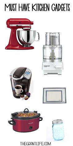 Must have kitchen gadgets.  What is the most used gadget in your kitchen?  #gadgets #foodtalk