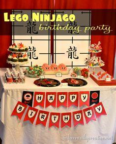 Lego Ninjago Birthday!