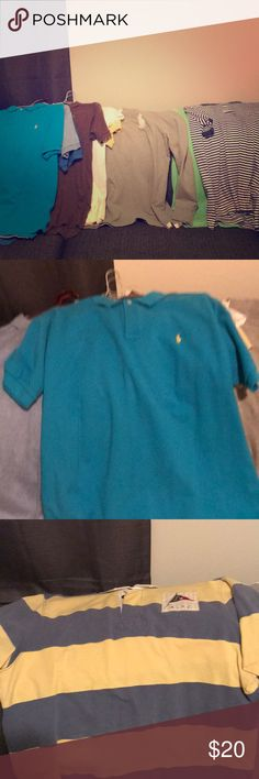 61d2e54dbfe0 Men s Polo Shirts Buyer can pick and choose which shirts they want!!  20  EACH! Price negotiable!! Great used Condition! Ralph Lauren Shirts Polos