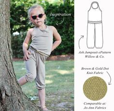 Kids Knit Jumpsuit Inspiration - The Sewing Rabbit