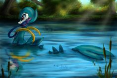 The Reflecting Pond by Cattensu on deviantART