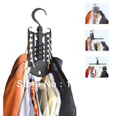 Magia cambalhota dobre Closet Space Saver prateleiras do banheiro roupas organizador cabide preto Clotheshors cremalheira grátis frete em Prateleiras e cabides de Casa & jardim no AliExpress.com | Alibaba Group