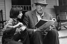 Atticus & Scout.  To Kill a Mockingbird  You can't beat one of the best!