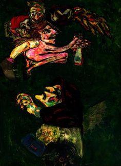 "Saatchi Art Artist CARMEN LUNA; Painting, ""52-GOYA by Carmen Luna."" #art"