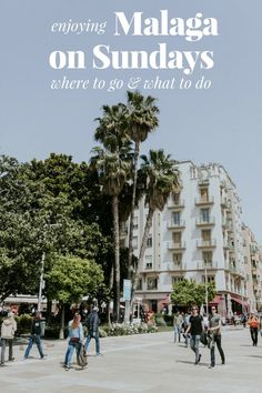 Out of ideas of what to do in sunny Malaga on a Sunday? We have plenty of ideas on how to make the most of a Sunday in Malaga! #malaga #spain #sunday #travel