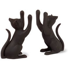 Playful Cat Bookends (Set of 2)