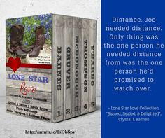 From Signed, Sealed, & Delighted by Crystal L Barnes, a novella in the Lone Star Love Collection. http://amzn.to/245n1ja