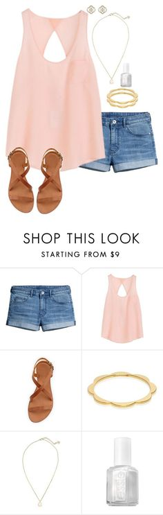 featuring H&M, Joie, Kate Spade, Kendra Scott, Essie and denimdaycd