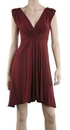 MAXSTUDIO EMPIRE WAIST DRESS  Sale: $48.00 You Save: $80.00 (62%)  spandex