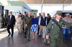 Video: Agilizan Gobernadora, Defensa Nacional y Sagarpa revisión militar en Querobabi http://ht.ly/YrSLE