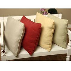Diamond Matelasse Throw Pillows (Set of 2)