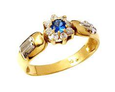 Anel de formatura corte e costura  em ouro 18k 750 com 8 diamantes de 2 pontos cada e 1 pedra preciosa .
