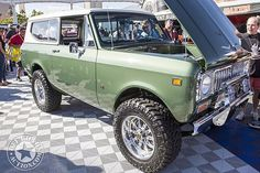 Part 2 of our #SEMA2016 coverage is up now at www.offroadaction.com with over 50 photos. Keep checking the site for more! #SEMA #offroadaction #vintageoffroad #vintage4x4 #international #scout