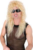 Morris Costumes Men's Punk Rock Headbanger Blonde Wig. FW92227BD