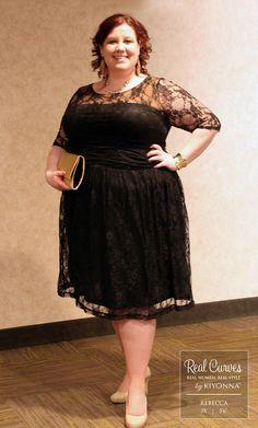 Luna Lace Dress in Black