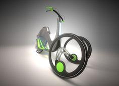 LUMA three wheeled bike by Bart Zimny, via Behance