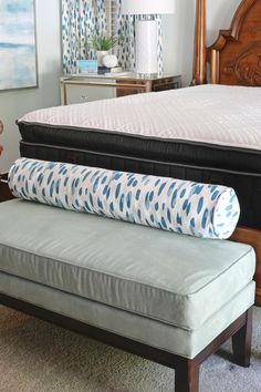 Bedroom Makeover With Stearns And Foster