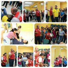 Cursos de primeros auxilios en #UTH #SanPedroSula
