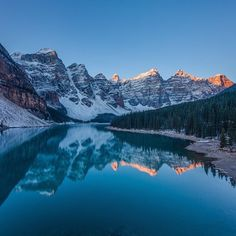 Moraine Lake by James McGregor. Beautiful Places In The World, Places Around The World, Around The Worlds, Banff National Park, National Parks, Top 10 Image, Moraine Lake, Park Around, Great Photos
