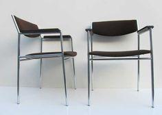 Vintage stoelen Gijs van der Sluis voor Spectrum