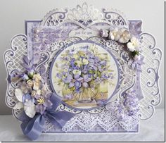 Hello fans of Marianne Design, Time sure flies.it is already time for a new challenge! Thanks for all your pretty entries of our last . Tonic Cards, Marianne Design Cards, Shabby Chic Cards, Shaped Cards, Fancy Fold Cards, Beautiful Handmade Cards, Easel Cards, Die Cut Cards, Pretty Cards