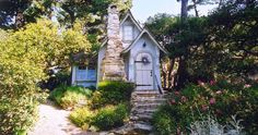 One of the gorgeous fairy tale cottages in Carmel-by-the-Sea -- to be featured in the Spring 2015 issue of Faerie Magazine!  http://on.trulia.com/153w0uh