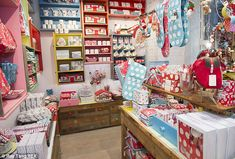 Homeware and kitchenware on display World's Largest Cath Kidston Store in Piccadilly