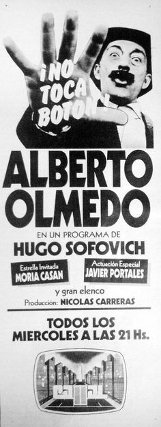 Canal 11, Buenos Aires, 1982.