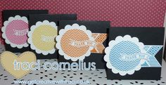 Love these cards using the Stampin' Up! Oh hello stamp set - to order yours visit www.getcreativewithtraci.co.uk  by Independent Stampin' Up! Demonstrator Traci Cornelius