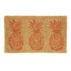 Pineapples Doormat