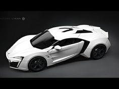 White beast! Lykan Hypersport!