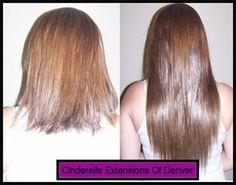 Beaded in braid-less weave hair extensions.