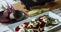 Salad on the Mandolin