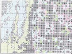 Схема вышивки Woman With Bouquet (Dimensions) 7 из 8