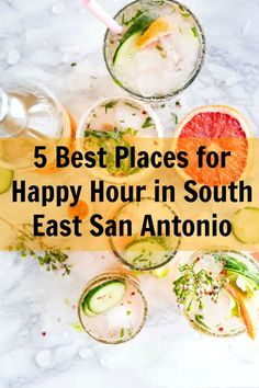 5 Best Places for Happy Hour in South East San Antonio | MCLife: San Antonio