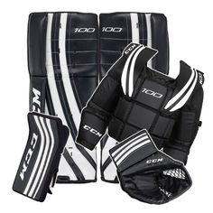 road hockey goalie gear - Google Search. Going to have one happy boy. Easter bunny is leaving him a good set from pro hockey life.