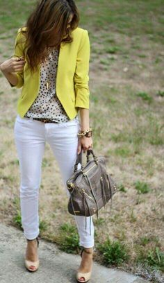 Like outfit...but don't want white pants