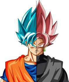 Super Saiyan Blue Goku and Super Saiyan Rośe Goku Black Goku Vs Black Goku, Dragon Z, Black Dragon, Black Cartoon, Son Goku, Animes Wallpapers, Pokemon, Animation, Fan Art