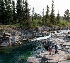 Castle Falls -This Waterfall Swimming Hole Is Alberta's Best Kept Secret - Narcity Canadian Travel, Canadian Rockies, Places To Travel, Travel Destinations, Places To Visit, Weekend Camping Trip, Road Trip, Alberta Travel, Waterfall Hikes