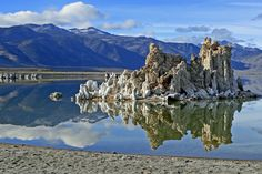 "Mono Lake, California, US ""Once you get near the water... you are in a place like none you've ever seen before. Totally mesmerizing."""