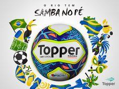 Samba: Bola oficial do Campeonato Carioca 2017 | Topper