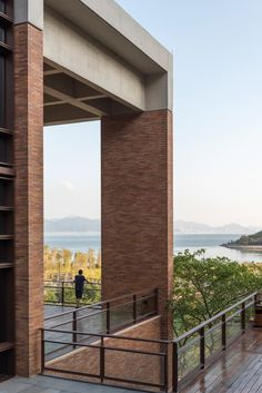 Foster + Partners has used custom-made bricks to build a campus near Shenzhen, encompassing a university, a hotel and housing