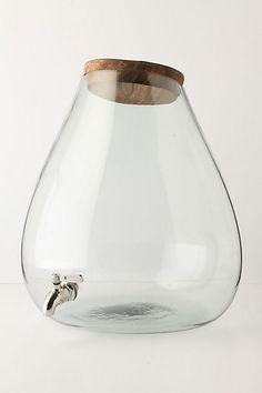 glass spout.