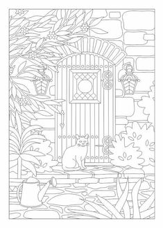 Cat Coloring Page Find This Pin And More