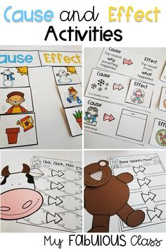 Art therapy activities preschool Cause and Effect Activities. Cause and Effect Craft. Bear Wants More. Click Clack, Moo, Cows That Type. Kindergarten Cause and Effect. Grade Cause and Effect. Cause And Effect Worksheets, Cause And Effect Activities, Kindergarten Activities, Infant Activities, Preschool Activities, 1st Grade Crafts, 2nd Grade Ela, Art Therapy Activities, Preschool Lessons