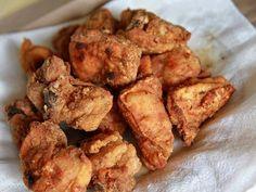 Chicarrones de Pollo (Puerto Rican Fried Chicken) Tasty Kitchen: A Happy Recipe Community! Puerto Rican Cuisine, Puerto Rican Recipes, Mexican Food Recipes, Puerto Rican Dishes, Rice And Beans Recipe Puerto Rican, Comida Latina, Tasty Kitchen, Plats Latinos, Comida Boricua