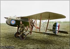 Vickers F.B.26 A Vampire single-seat pusher biplane fighter. 230 h.p. Bentley B.R.2 engine. Serial number 148.