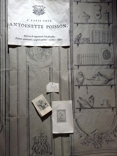 Antoinette Poisson dazzled paper lovers when it launched its collection at last year's Maison & Objet. Specializing in domino papers—which are block-printed and hand-painted wallpapers—its latest design imitates a wall with baroque moldings and glassware—not precise enough for trompe l'oeil—but with a touch of Fornasetti-style surrealism. - Photo: Courtesy of Antoinette Poisson